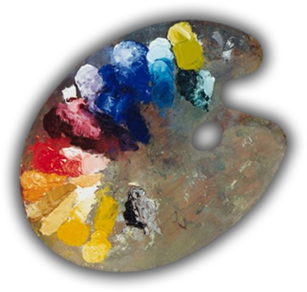 Esteban navarro artiste peintre lyonnais accueil for Peinture palette